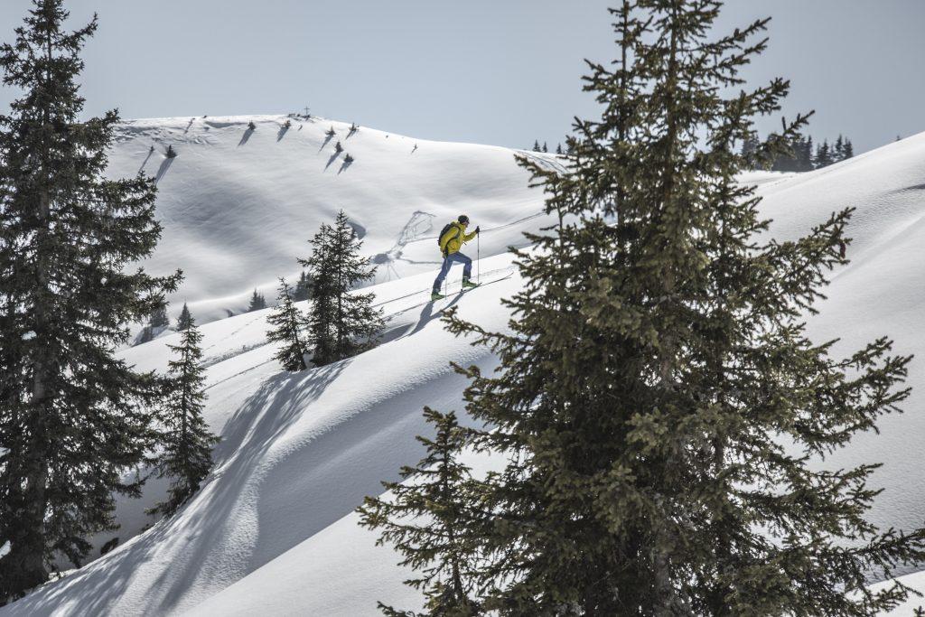 Off-piste ski hiking in Salzburg