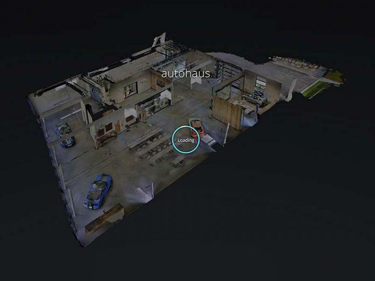 Eventlocation autohaus 3D-tour