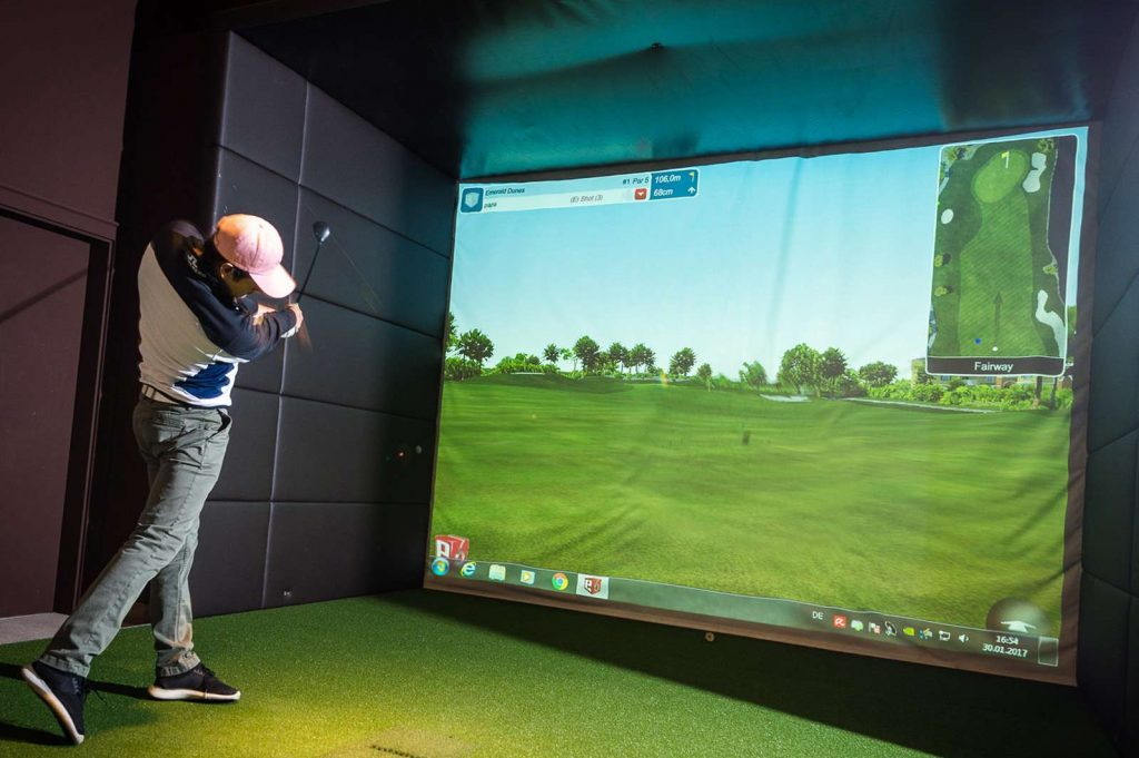 Indoor Golfsimulator TruGolf