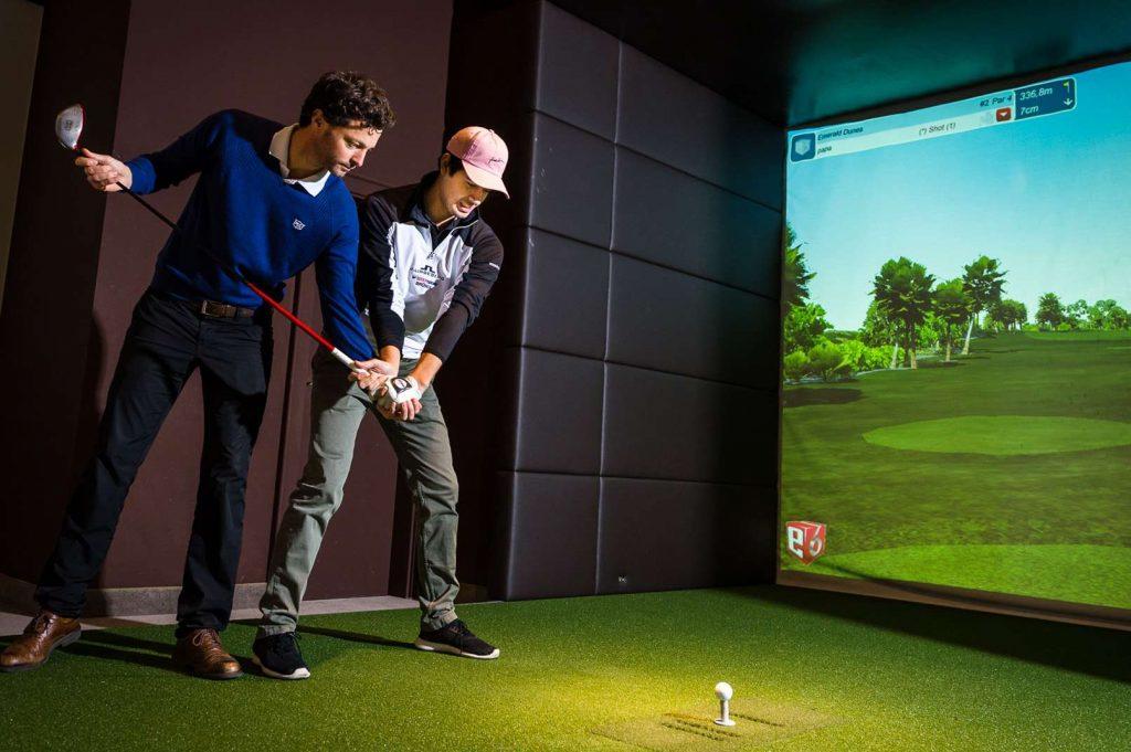 Das Golf Performance Center im Brandlhof unter der Leitung von Markus v. K.
